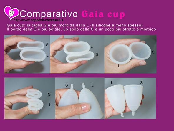 coppette Gaia cup
