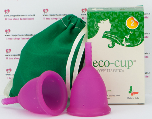 coppetta Eco-cup colorata